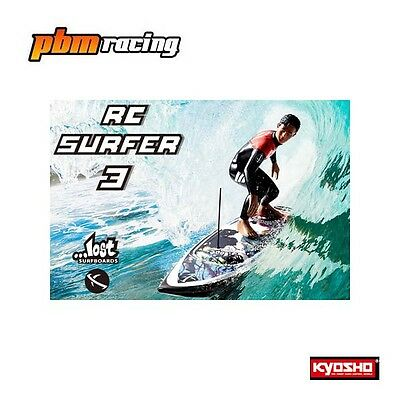 The Kyosho RC Surfer 3 2.4Ghz Electric Powered Surfer RTR 40108