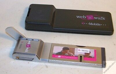UMTS Karte wnw ExpressCard II T-Mobile - mit Anschluß für extra Antenne XP _fu
