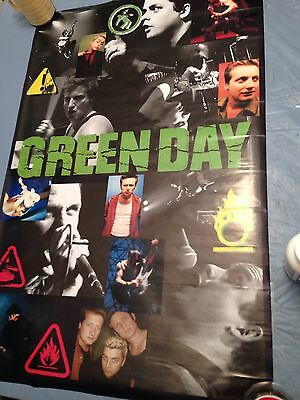 Green Day Poster 2005  34 X 22