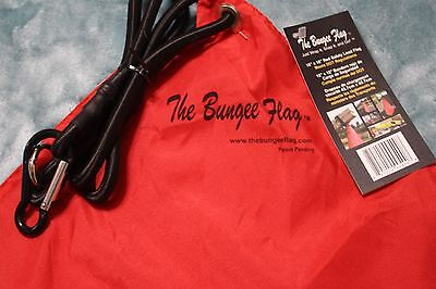 "The Bungee Flag 18"" by 18"" Red Safety Load Flag - New"