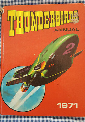 Thunderbirds annual 1971 - unclipped