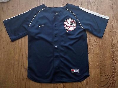 MLB New York Yankees blank jersey by Nike SEWN Youth M (12/14)