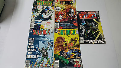 Large Lot of 5 SGT. Rock Comic Books - Good Condition