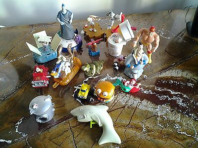 1990s BUNDLE , LOT OF 16 MCDONALDS HAPPY MEAL TOYS