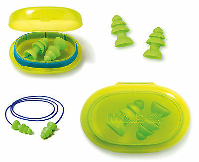 Moldex Reusable Ear Plugs - Moldex Comets Uncord / Cord Earplug + travel case