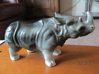 RHINO c1960 LARGE WELL MODELED GOOD DETAIL