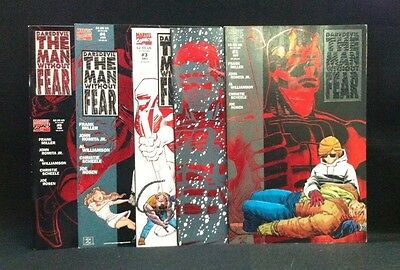 Daredevil The Man Without Fear #1-5! COMPLETE COMIC SERIES Netflix Tie-in MILLER