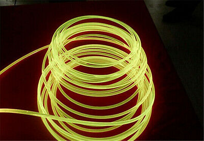 Fibre optic flexible lighting cable side glow 10 mm diamater