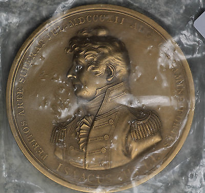 Undated Captain Isaac Hull Restrike Medal - John Reich
