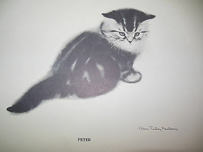 Limited Print Cat Newberry PETER 1956