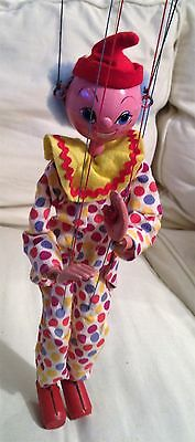 SS CLOWN PELHAM PUPPET VINTAGE 1960s TOY