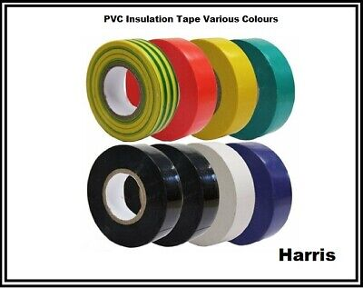 Pvc Electrical Tape | Insulation Tape | Flame Retardant Various Colours | T1