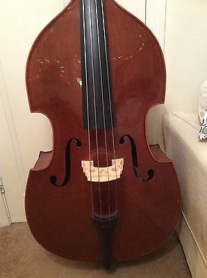 Double Bass 3/4 Hand Carved