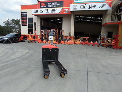 Full-Electric Battery EP Pallet Jack, 1500kgs, 560mm Wide, Call us 02 9625 5666