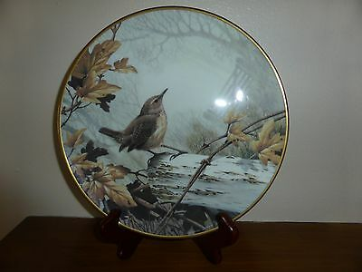 Wedgwood WREN Collectors Plate RSPB Centenary Collection