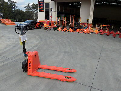 New EP Semi-Electric Pallet Jack, 1Ton, 560mm Narrow, $1600+Gst, Call 9625 5666