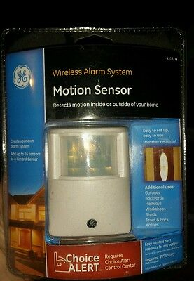 BRAND NEW - GE Choice Alert Wireless Alarm System Motion Sensor 45132