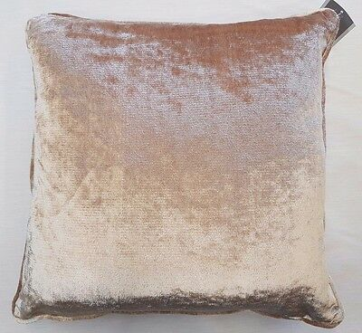 Luxury Crushed Thick Velvet Champagne Cushion Cover £6.99 Ea  Free Postage