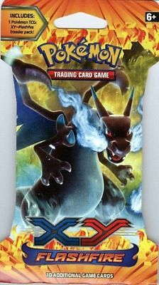 POKEMON XY FLASHFIRE BLISTER PACK Free Shipping Brand New Sealed