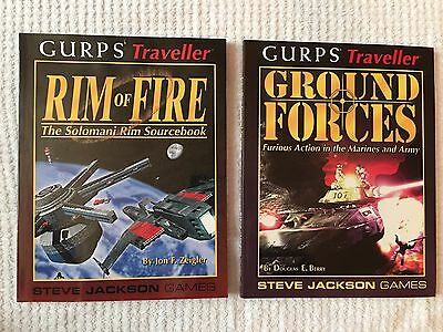 Gurps Traveller: Ground Forces And Rim Of Fire