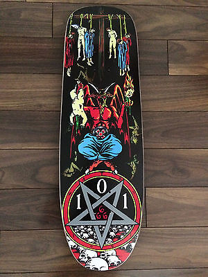 "Natas Kaupas ""devil Worship"" 101 Skateboard Deck - ""screened"""