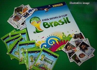 2014 FIFA World Cup - set of 720 stickers + empty album (hardcover) + tee