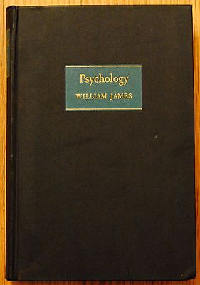 VINTAGE Psychology by William James The Living Library 1948 Hardcover Book
