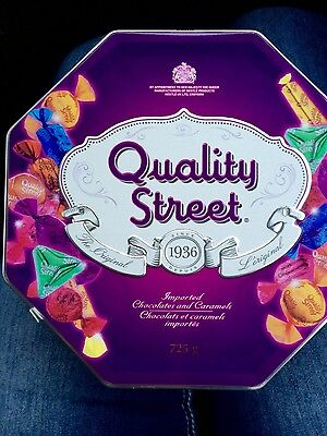 Quality Street Chocolates and Caramels 725g tin -NEW