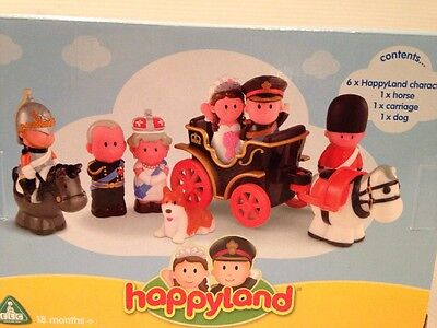 Elc Happyland Royal Wedding Special Limited First Edition 2011 William Kate