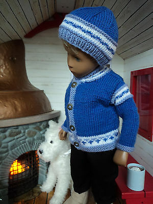 """Cocoa at the Cabin:"" Bright outfit for Sasha/Gregor Doll by ""The Spin I'm In"""
