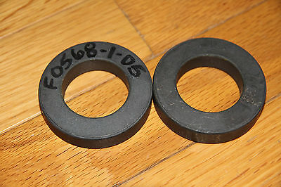 2 pcs Ferrite Rings Iron Toroid Cores Power Inductor 60x35x13mm