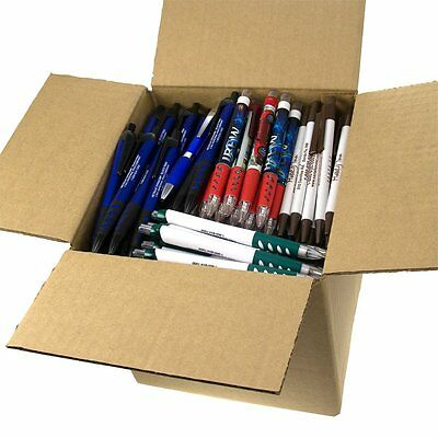 3 Pounds Retractable Ballpoint Pens Red Blue Yellow Bulk Lot Black Ink Assorted