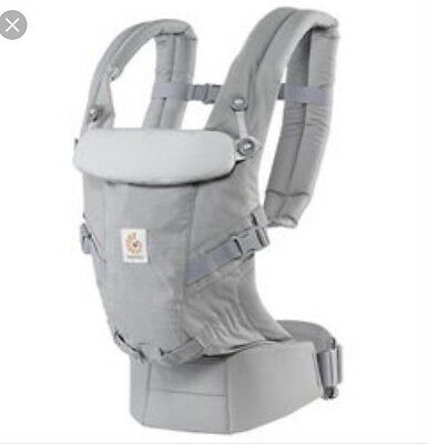 NEW Ergo Baby adapt 3 position carrier pearl grey