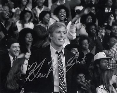"""Signed Original B&W Photo of Ken Howard of the TV show """"The White Shadow"""""""