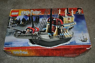 Lego Harry Potter 4768 The Durmstrang Ship Complete Set W/ Box & Manual