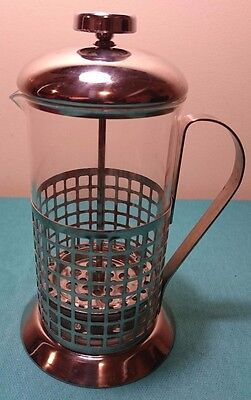 Coffee Press Plunger Maker Stainless Steel & Glass 750ml Capacity