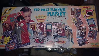 Vintage Pee Wee Play House Sealed And Moc Figure