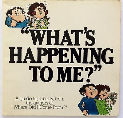 What's Happening To Me? Puberty Sex Primary Resources Children's Book