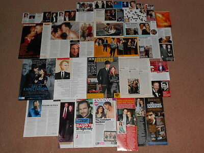 40- RALPH FIENNES Magazine Clippings