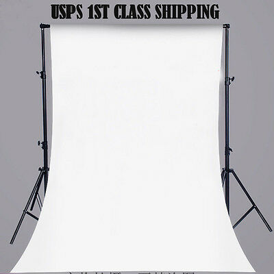 5x7FT White Wall Vinyl Cloth Photography Backdrop Photo Background Studio Props