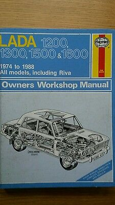 Haynes Manual For A Lada