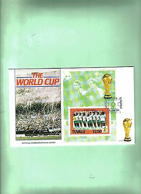 1986 mexico world cup first day cover with northern ireland team