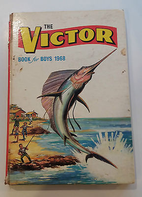 Victor Book For Boys 1968 Annual