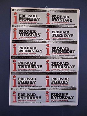 Pre Paid The I Newspaper Vouchers 52 Weeks