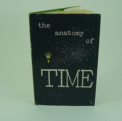 Genuine Rolex book the anatomy of TIME (third edition)