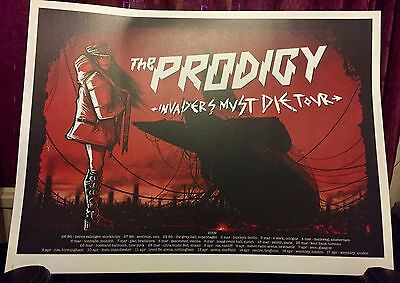 The Prodigy - Invaders Must Die - Very Rare Tour Poster