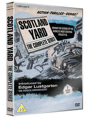 SCOTLAND YARD the complete series box set. 7 discs. New sealed DVD.