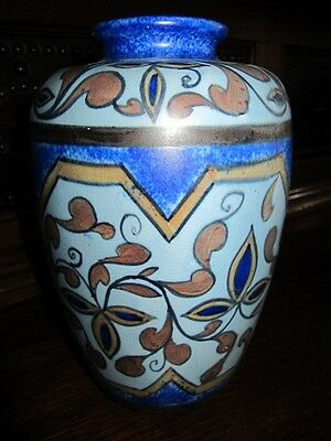 Very Rare George Clews Chameleon Ware Trefoil Pattern 13 Large Vase