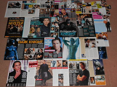 60- CHRISTIAN BALE Magazine Clippings