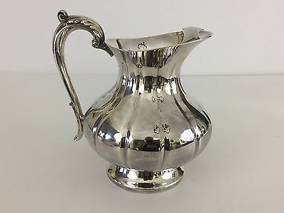 vintage Sheffield Silver Co. silver platted water pitcher